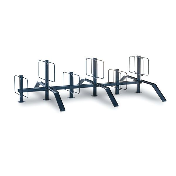 Pillar Bike Rack Double Sided