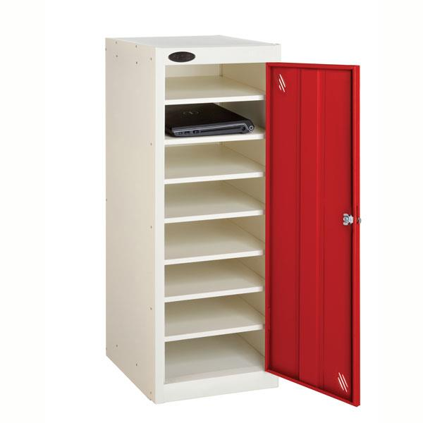 Probe Laptop Storage Locker 8 Compartments, 1 Door