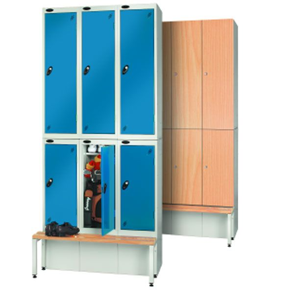 Timber Effect Golf Bottom Locker