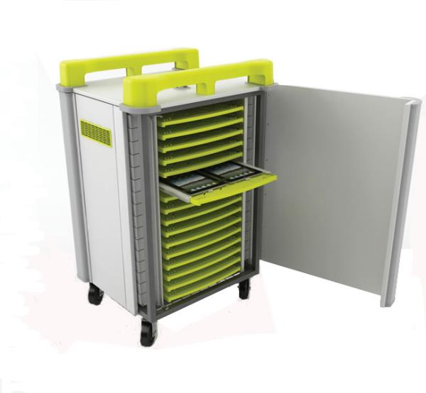 TabCabby 32H Tablet Store & Charge Trolley