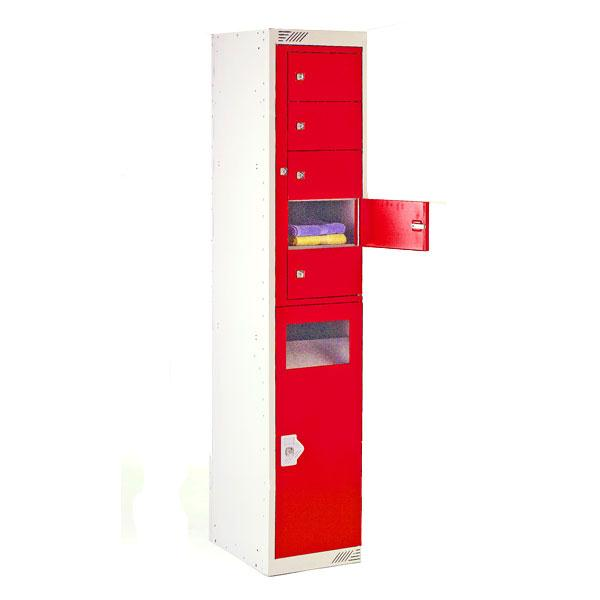 Dispenser/Collector Locker 10 Door Combi