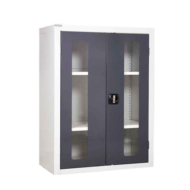 1200h x 900w x 460d Vision Door Cupboard