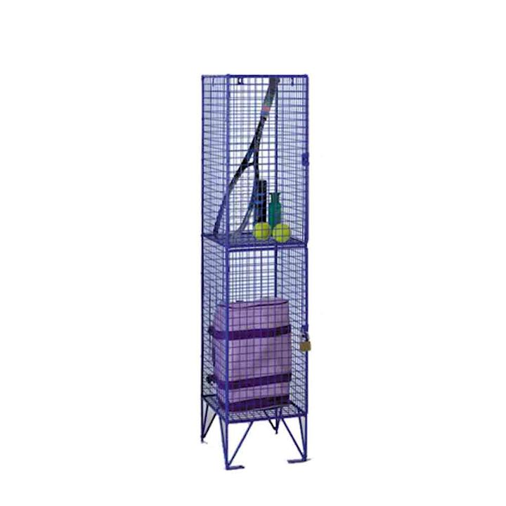 1370h Two Door Wire Mesh Locker