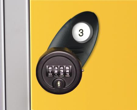 Re-Programmable 4 Digit Combination Lock
