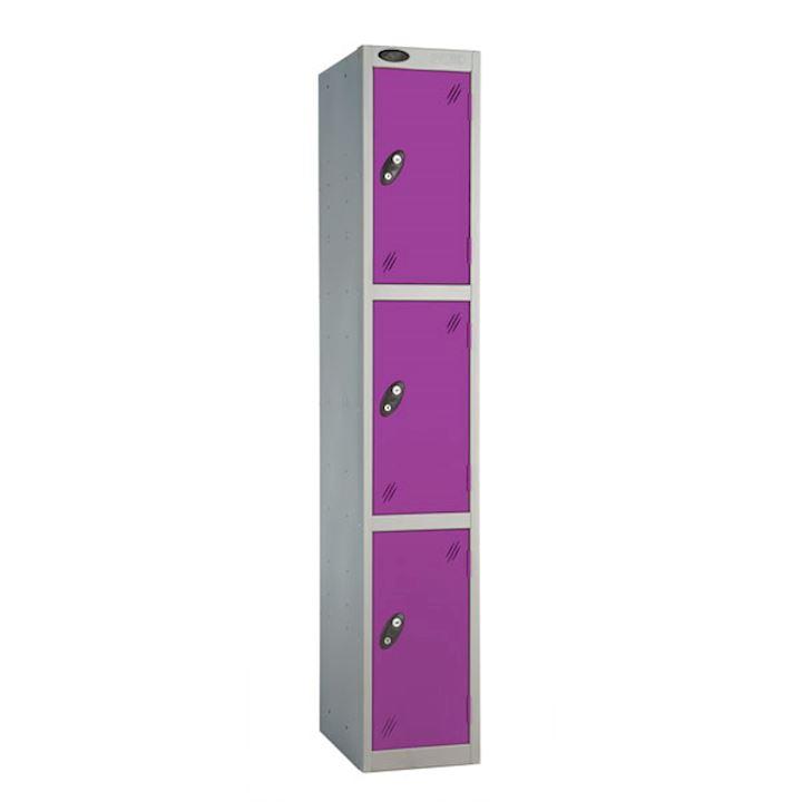 Metal Lockers Three Door