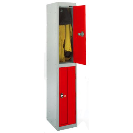 Strong Hold Heavy Duty Lockers Two Door
