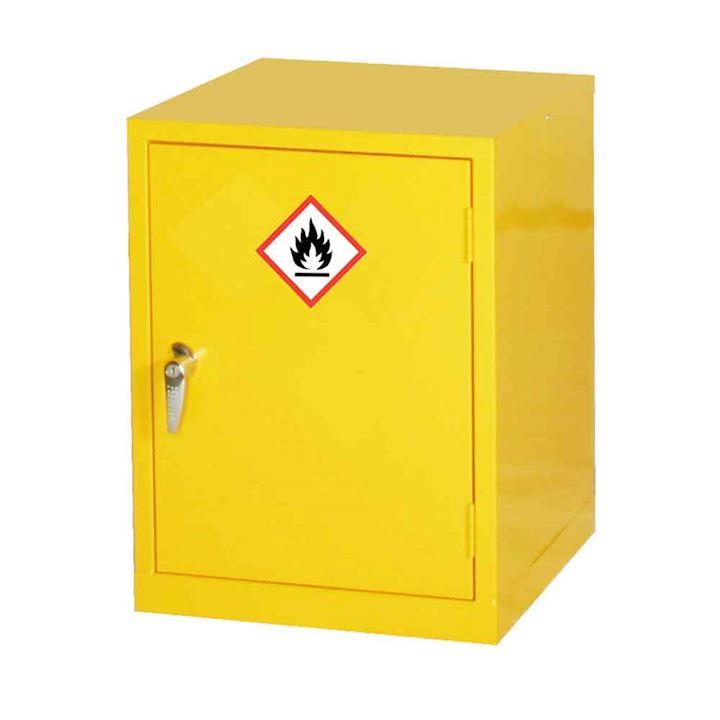 10 Ltr Yellow Hazardous Cabinet 610H x 457W x 457D by Elite