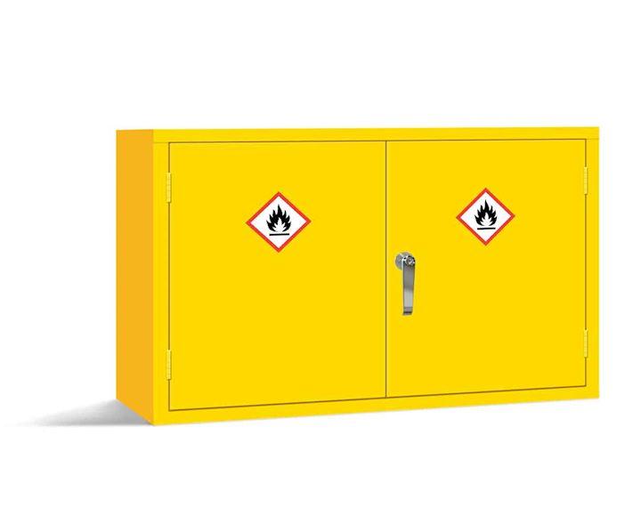 Dangerous Substance Wall Cabinet 610H x 915W x 381D by Elite