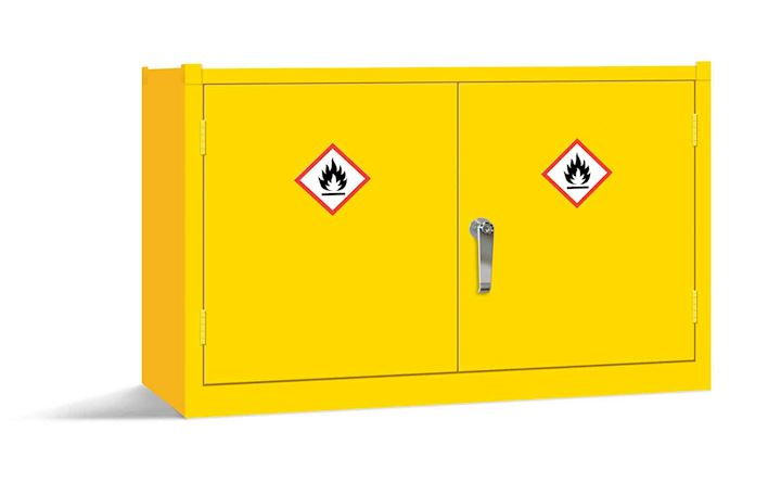 Yellow 20 Ltr Stackable Cabinet 610H x 915W x 457D by Elite