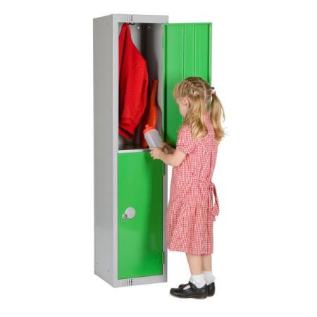 1370H Primary School Locker 2 Door