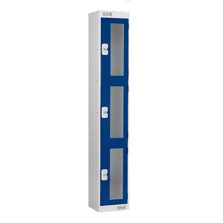 Vision Panel 3 door lockers