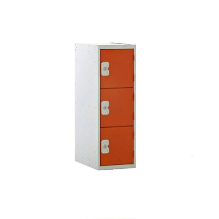 Low Locker 3 Door 900mm
