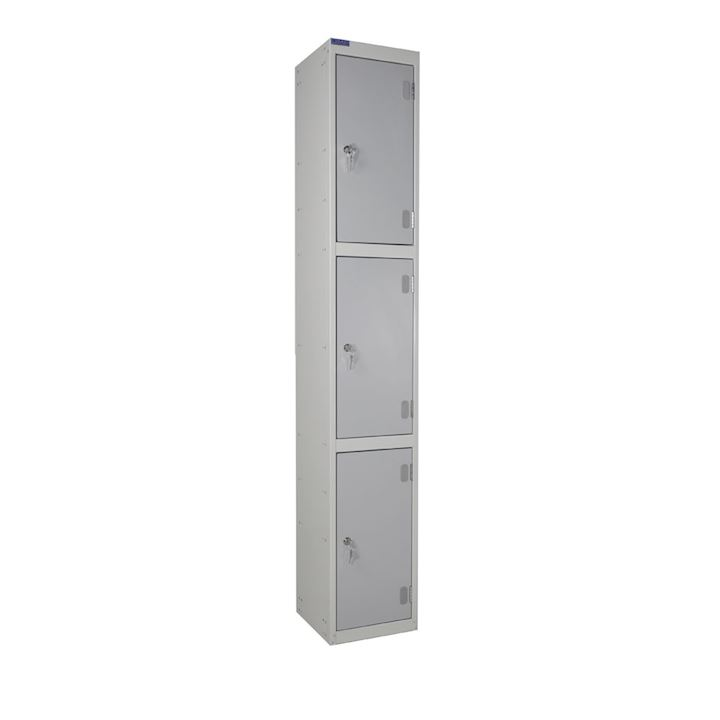 Laminate Locker Three Door - Dry Area