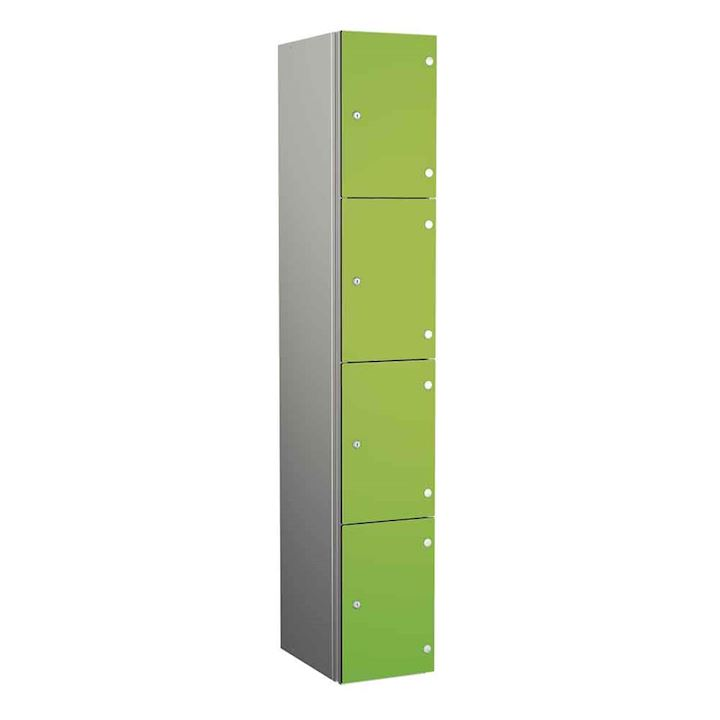 Aluminium Lockers - Zenbox 4 Door 1800H