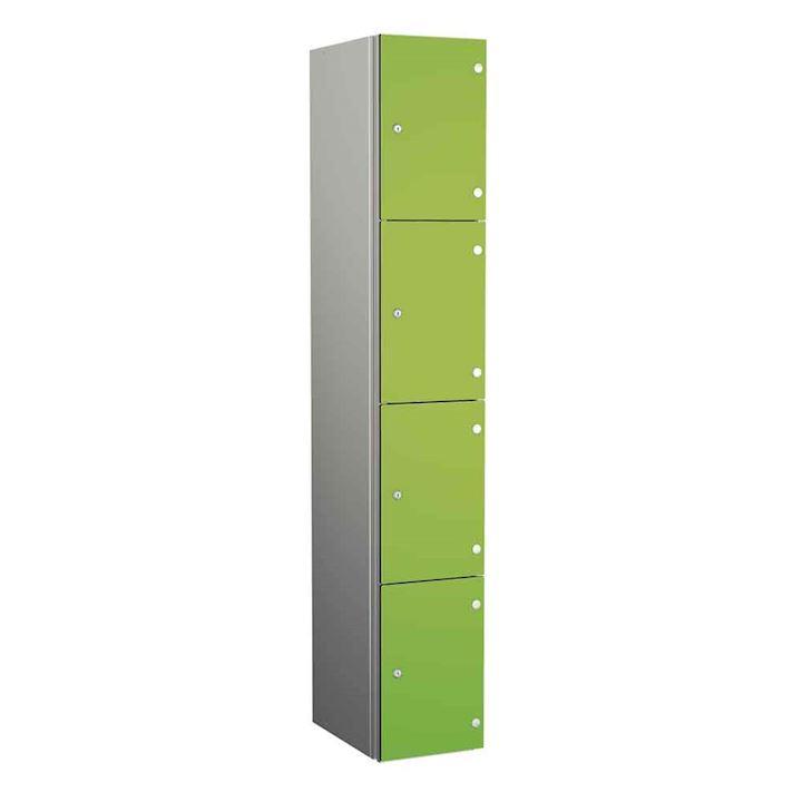 Aluminium Lockers - Zenbox 4 Door 1800H