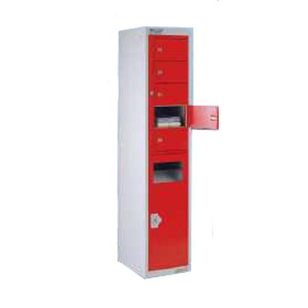 Combi Dispenser/Collector Locker 5 Door