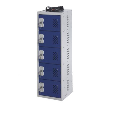 Charging Personal Item locker 900H x 300W x 300D 5 door