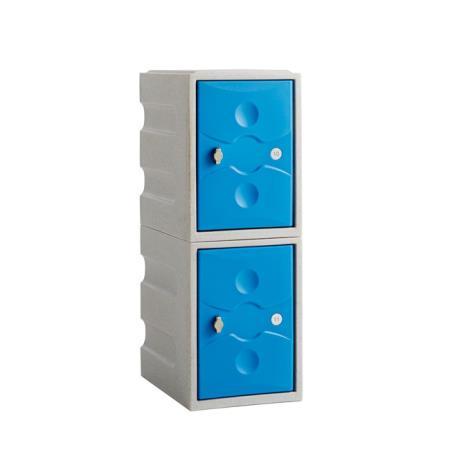 Ultrabox Plastic Locker Two Door Mini