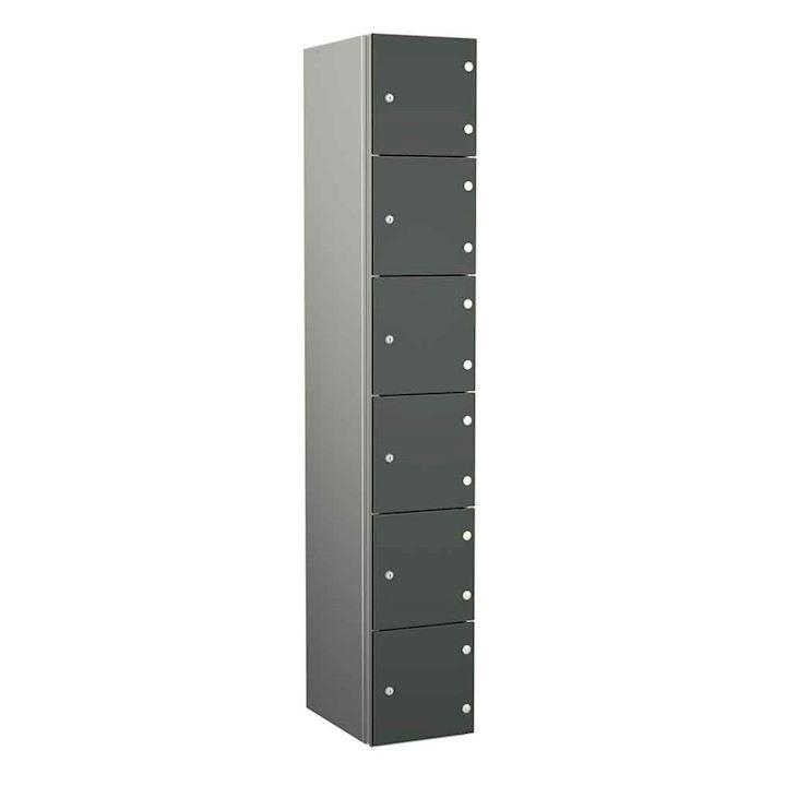 Aluminium Lockers - Zenbox 6 Door 1800H
