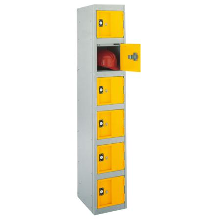 Strong Hold Heavy Duty Lockers Six Door