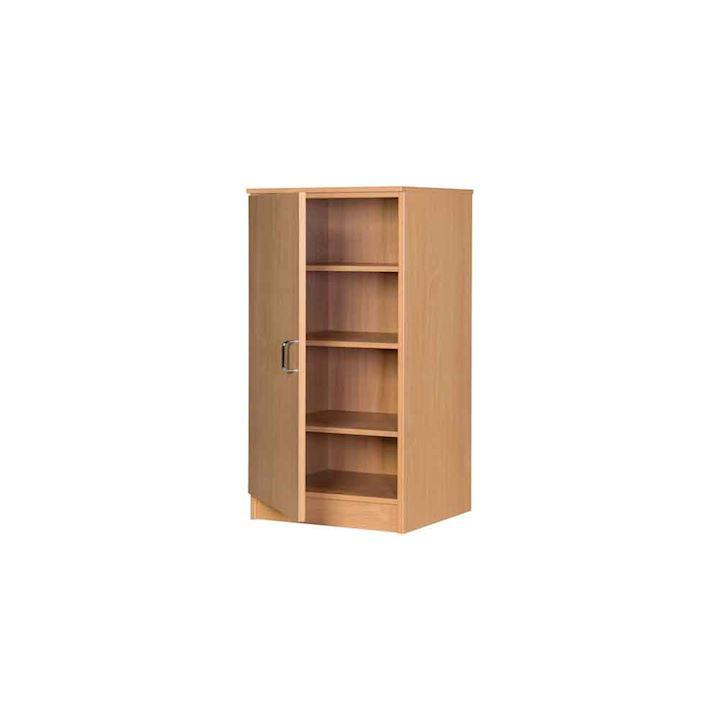 Slim MDF Solid Cupboard - 1000H x 500W x 480D