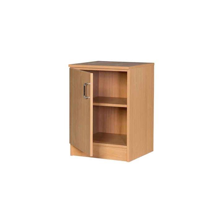 Slim Solid Wood MDF Cupboard - 700H x 500W x 480D