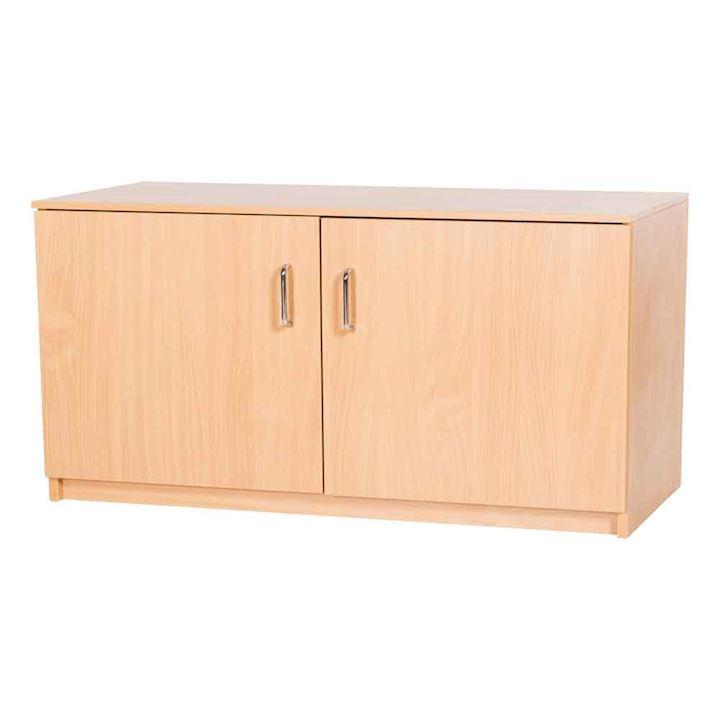 Solid Wood MDF Cupboard - 600H x 1000W x 480D