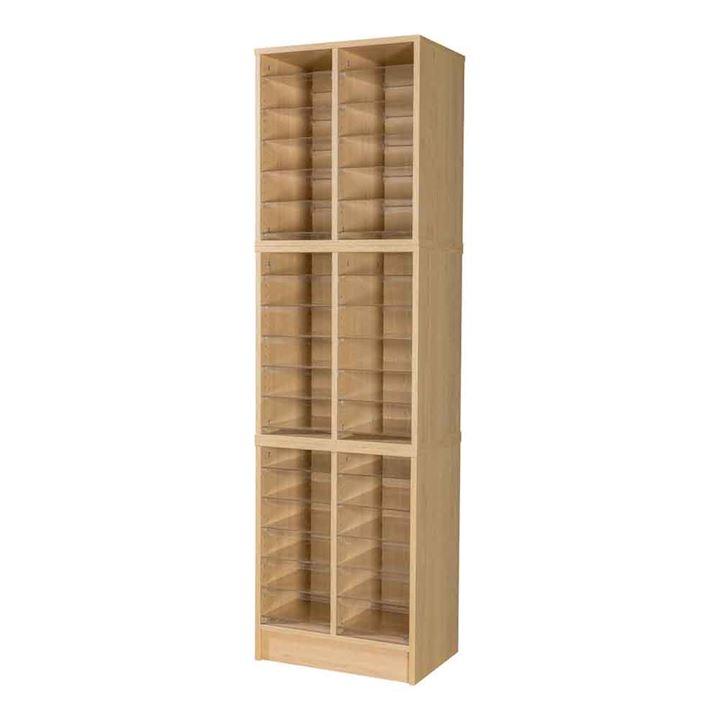 Wooden Pigeonhole Unit 36 Compartments 1930H x 558W x 375D