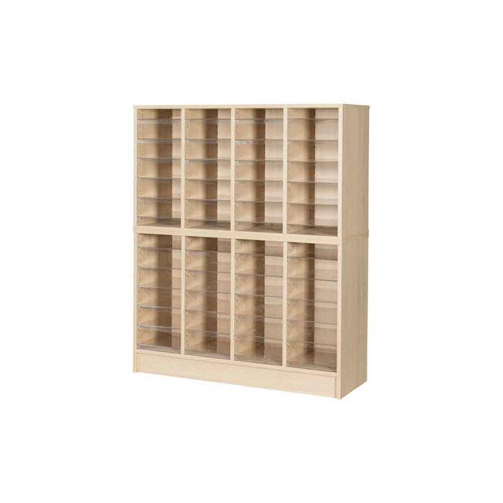 Wooden Pigeonhole Unit 48 Compartments 1320H x 1094W x 375D