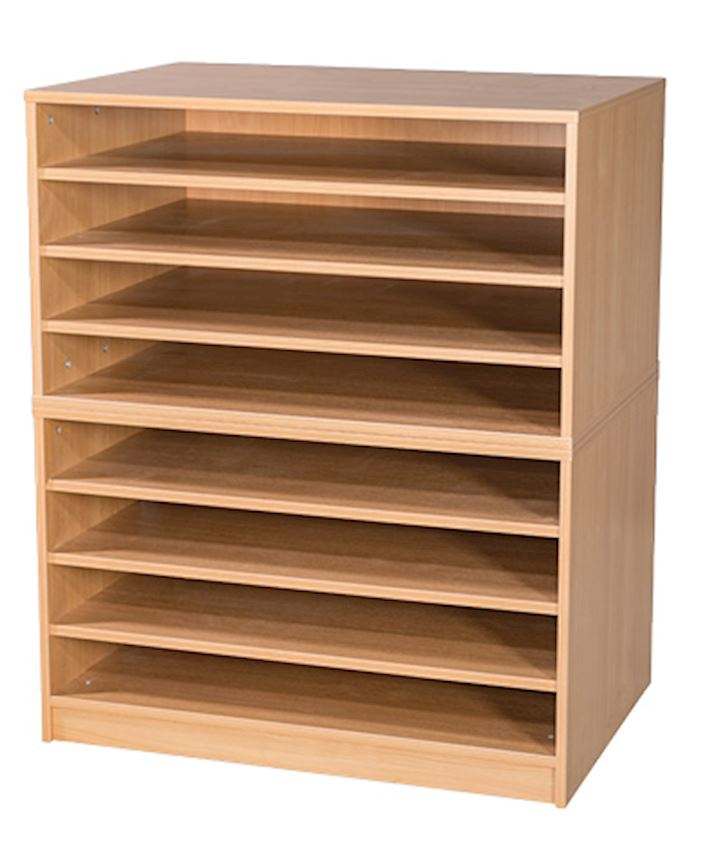 A1 Plan Chest Paper Storage 8 Drawers 1107H x 1010W x 705D