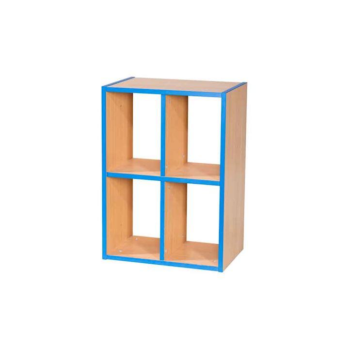Two Tier 2 + 2 Shelf School Cubbyhole 500W