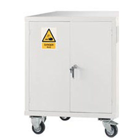 Acid Mobile Cupboard 1040 x 900 x 460
