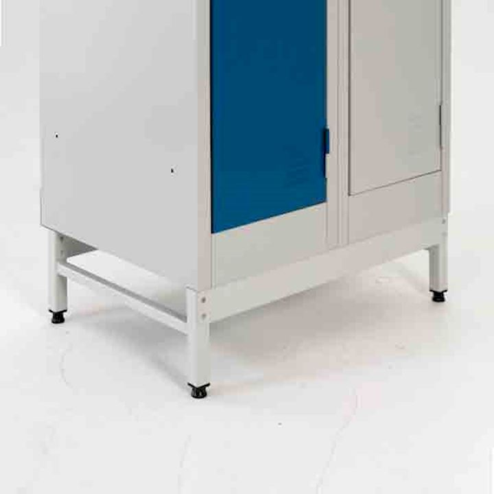 A Series Locker Stand x 450 deep x 600mm long (2 lockers wide)