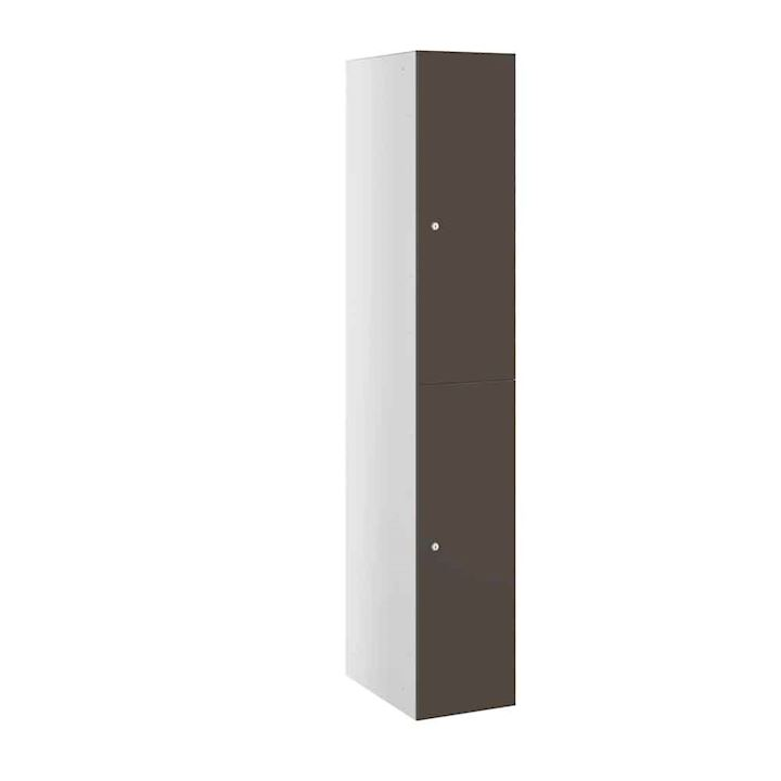 Buzzbox  Satin MDF 2 Door Locker 1800H
