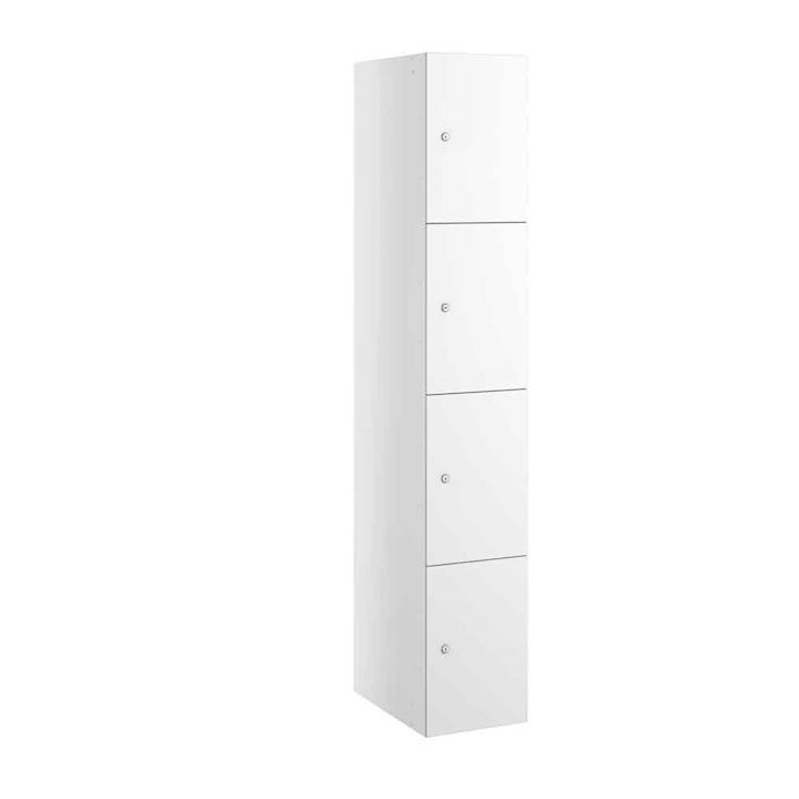 Buzzbox Satin MDF 4 Door Locker 1800H