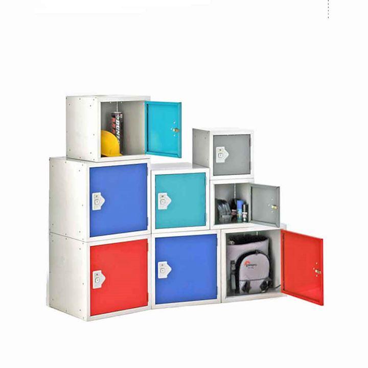 Cube Locker Coloured Doors