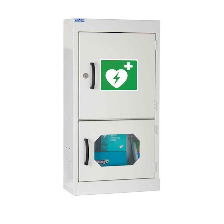 Defibrillator Cabinet 710H With Plain Door & Vision Panel