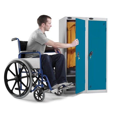 Disability Single Door Locker 1300mm high P Series
