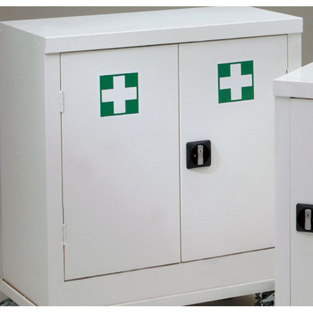 First Aid Cabinet Small Double 700 x 900 x 460