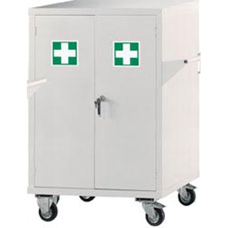 First Aid Mobile Cupboard 1040 x 900 x 460