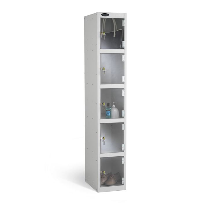 Full Clear Five Door Locker 1780H