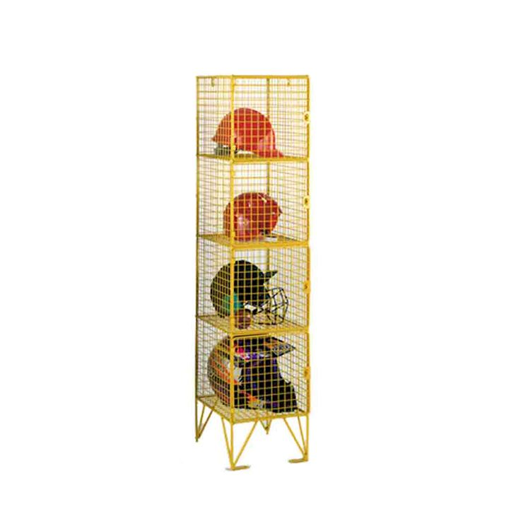 1370mm High 4 Door Wire Mesh Locker