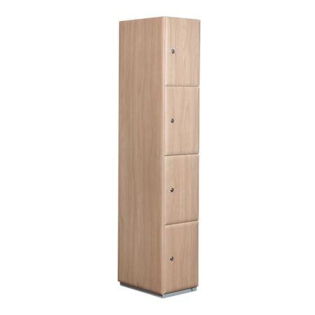 Wooden Four Tier Locker