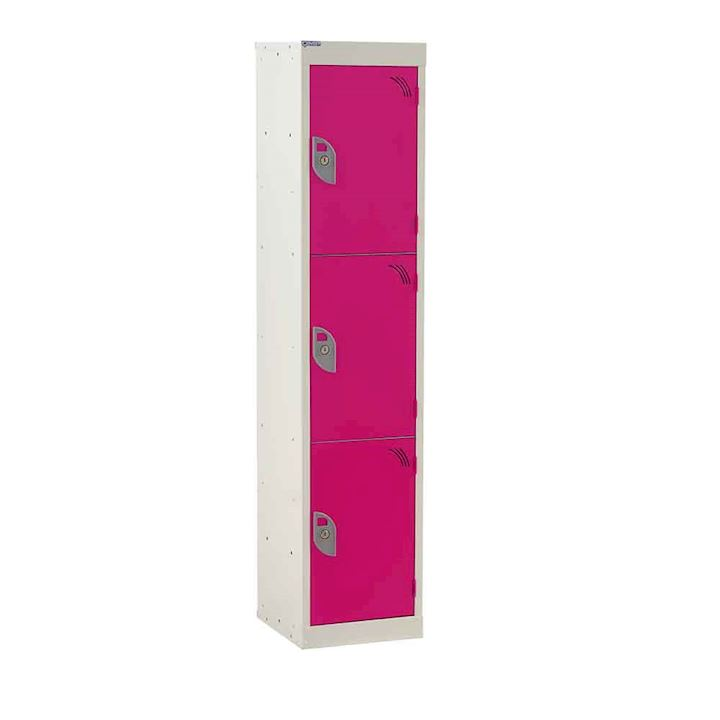 QMP Rainbow Junior 3 Door Locker 1365H