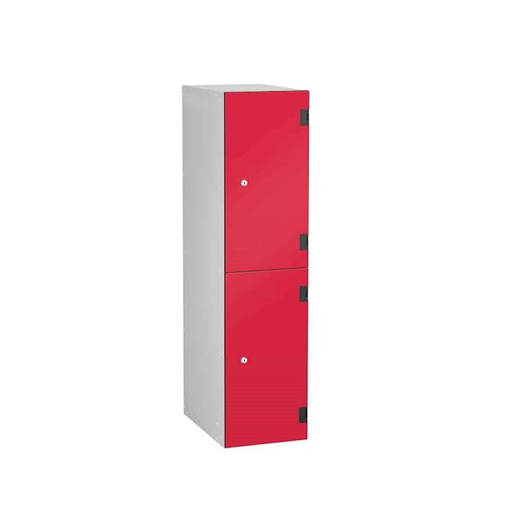 Laminate 1220H x 300W x 460D Two Door Locker