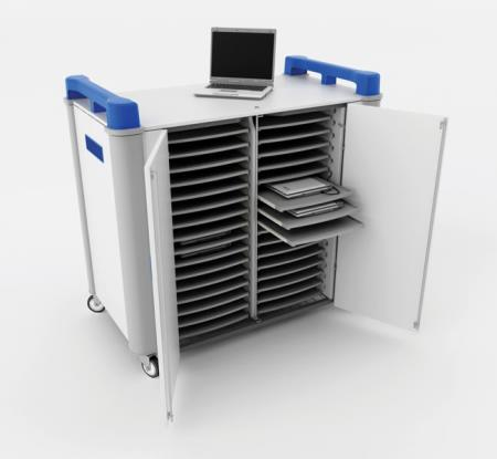 LapCabby 32H - Laptop Store & Charge Trolley - 32 Laptops