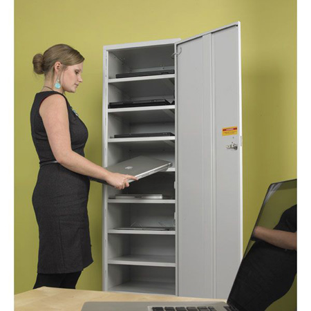 Link Charging Laptop Locker 1 Door, 10 compartments