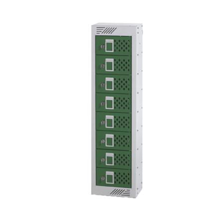 Charging Phone locker 900H x 250W x 155D 8 comp