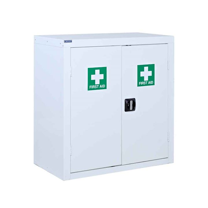 Lockable First Aid Cabinet 900 x 900 x 460