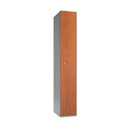 Timber Effect Single Door Locker 1780mm